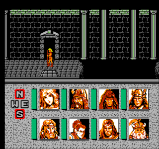 Dendy Advanced Dungeons & Dragons - Heroes of the Lance
